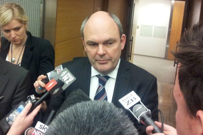 Steven Joyce (Photo: Lloyd Burr/3 News)