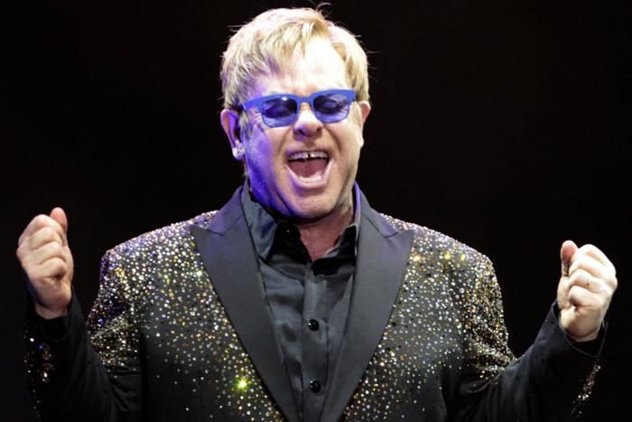 Sir Elton John (AAP)