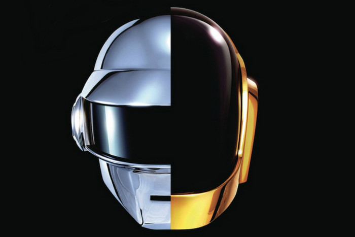 Promotional image released for Daft Punk's upcoming album Random Access Memories