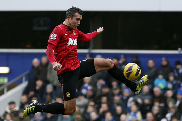Robin Van Persie suffered a slight injury scare last week against QPR but is expected to start against Norwich (Reuters file)