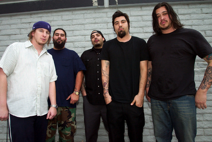 Deftones (Chi Cheng on far right) (Reuters)