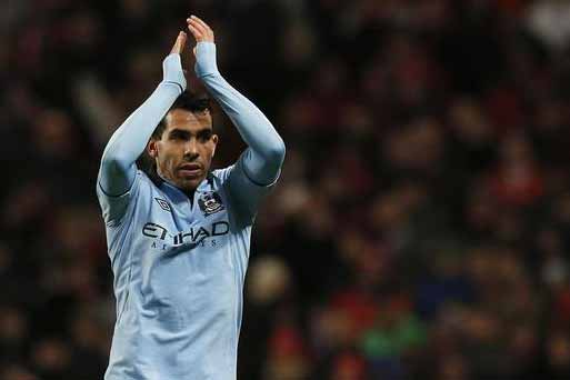 carlos Tevez scored the winner for Manchester City (Reuters file)