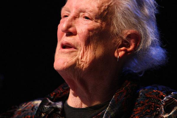 Author Margaret Mahy (File)