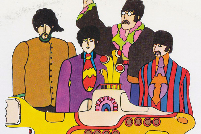 The Beatles in Yellow Submarine (Reuters)