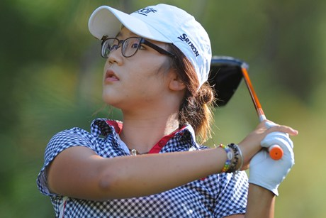 World No.1 women's golf amateur Lydia Ko (file pic)