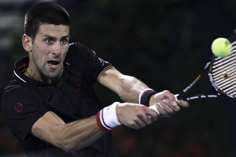 Novak Djokovic (file pic)