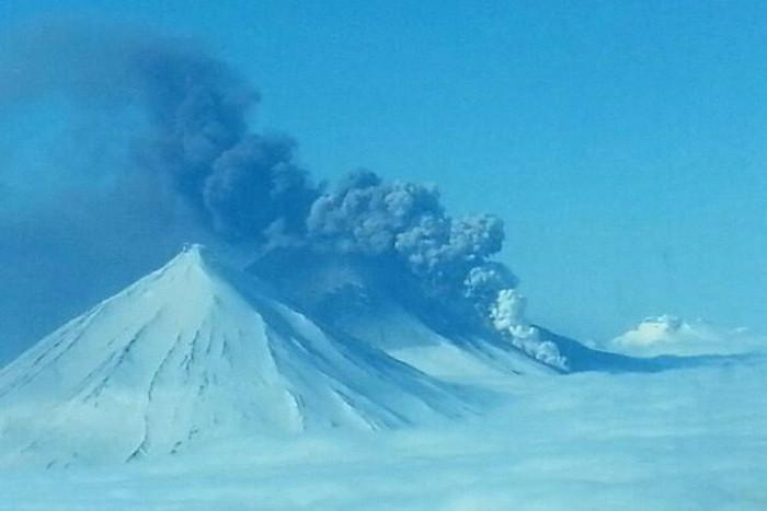 The Pavlof Volcano (AAP)
