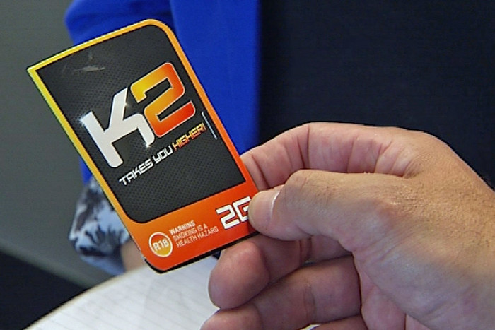 The number of people having problems with drugs like K2 is increasing (file)