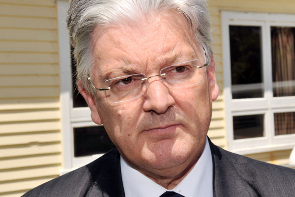 United Future leader Peter Dunne (file)