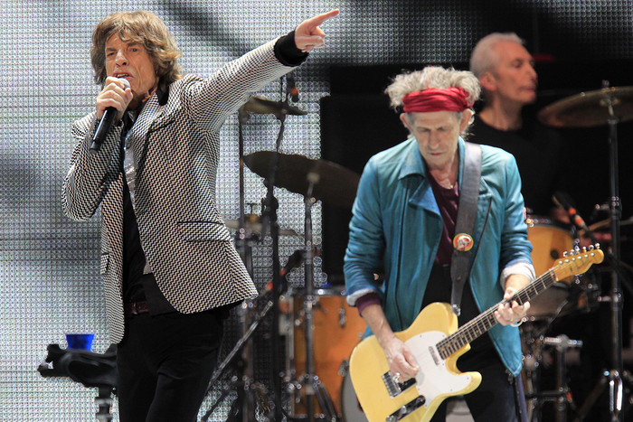 The Rolling Stones (Reuters)