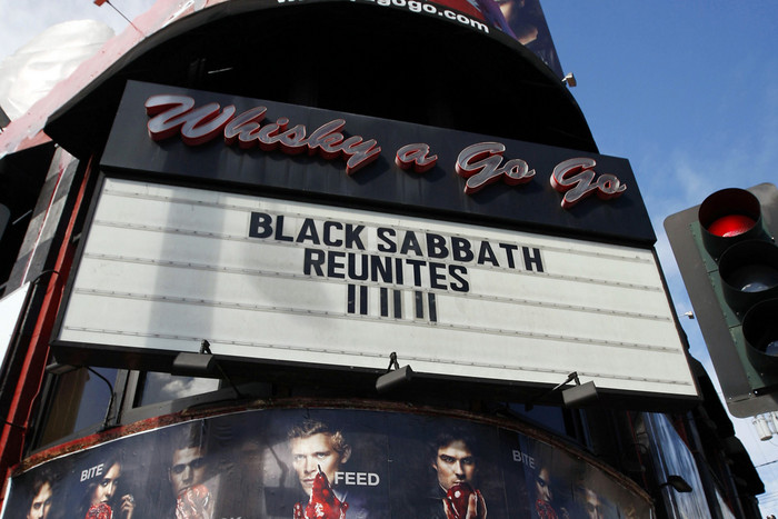Sabbath's reunion was enthusiastically met (Reuters)