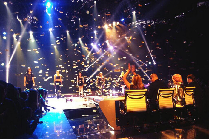 GAP5 perform a Destiny's Child medley (Photo: The X Factor NZ)