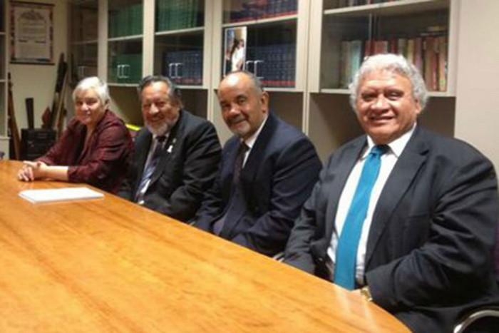 Pem Bird, far right, will resign at the Maori Party AGM