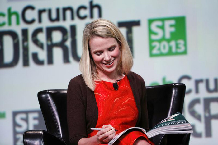 Marissa Mayer, President and CEO of Yahoo! (Reuters)