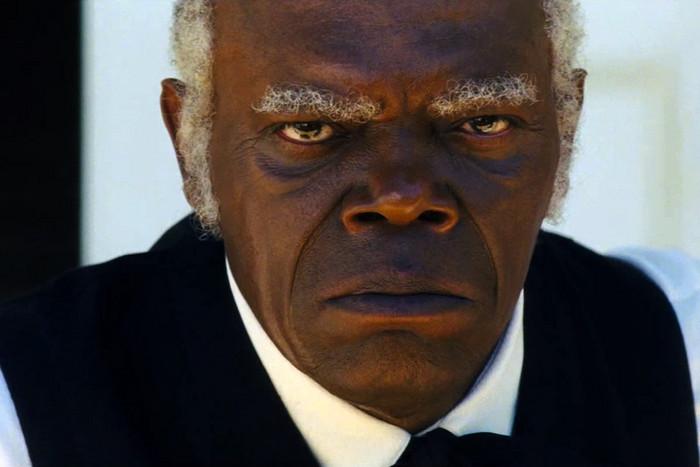 Samuel L Jackson in Django Unchained