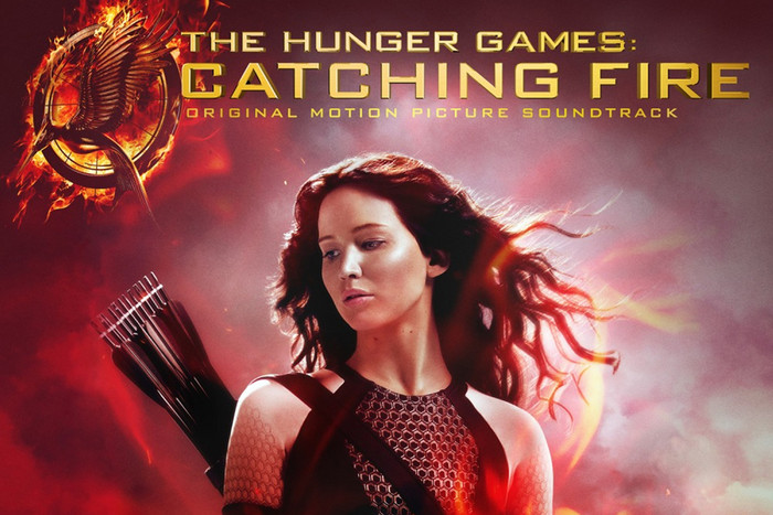 Hunger Games: Catching Fire soundtrack album art