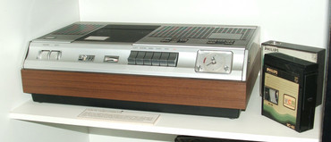 In 1971 Philips showed off the very first VCR for use at home, the N1500 (sciencemuseum.org)