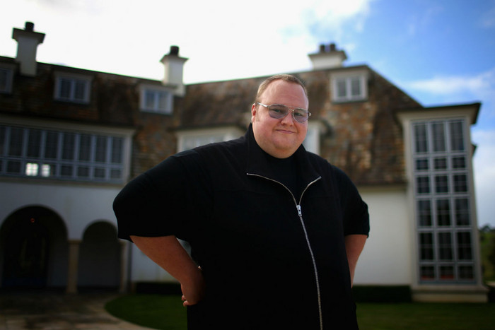 Kim Dotcom (Getty)