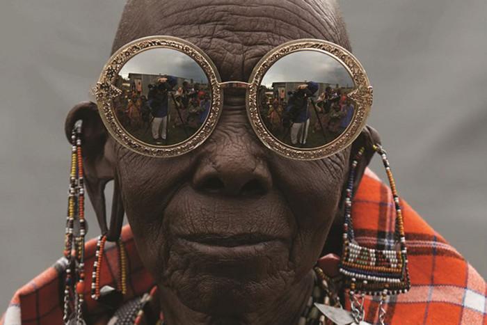 Rason, a Maasai beading team member (Photo: Derek Henderson)