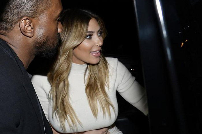 Kanye and Kim (Reuters)