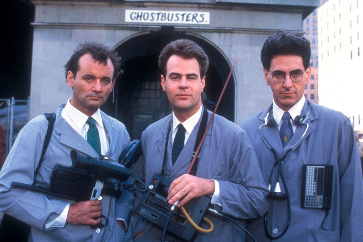 Ghostbusters stars Bill Murray, Dan Aykroyd and Harold Ramis