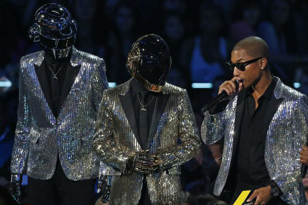 Daft Punk and Pharrell Williams (Reuters)