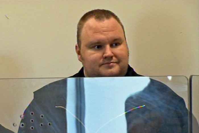 Kim Dotcom appears in court (file)