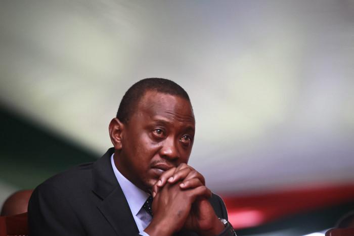 Kenyan President Uhuru Kenyatta (AAP)