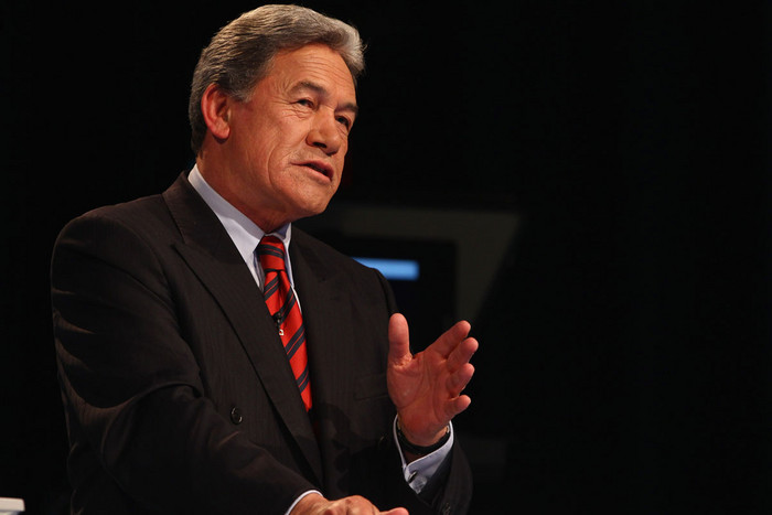 New Zealand First leader Winston Peters (AAP)