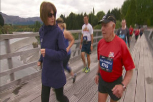 Marathon man won't let age slow him down