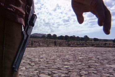 A climactic scene from Sergio Leone's The Good, the Bad and the Ugly