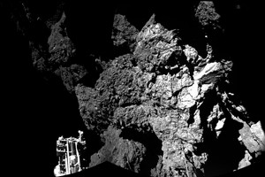 Rosetta spacecraft crashes onto target comet