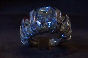 The 'Sky Blue Diamond'/Sotheby's