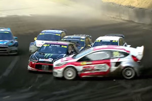 Video: Rally driver Kevin Eriksson pulls off breathtaking passing move