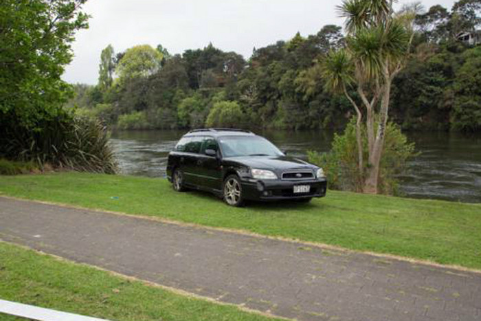 The car police are looking for (NZ Police)