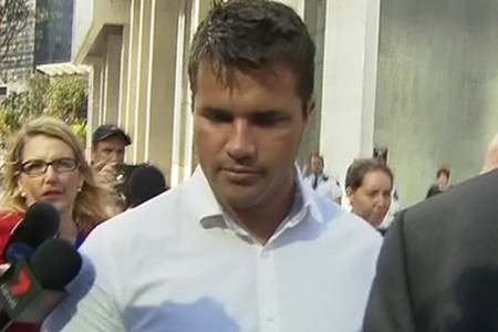 Gable Tostee outside court