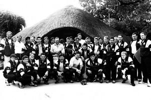 1986 Cavaliers squad (Photosport)