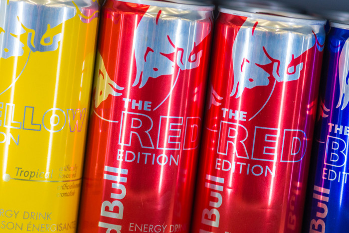 Taurine occurs naturally in the body, but is a key ingredient in energy drinks like Red Bull and V (Getty)