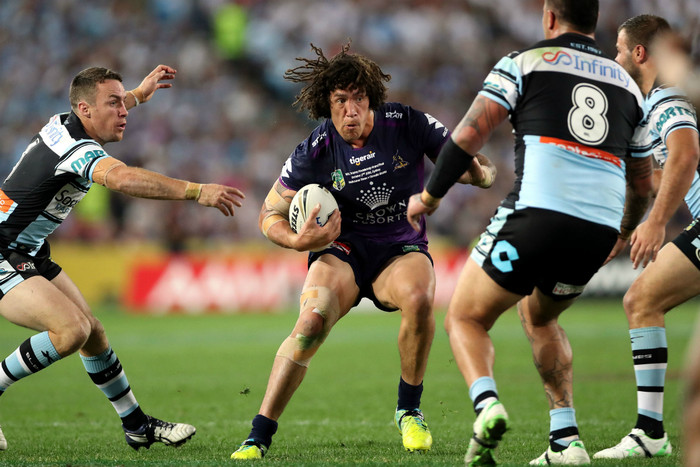 Kevin Proctor during the NRL Grand Final (Photosport)