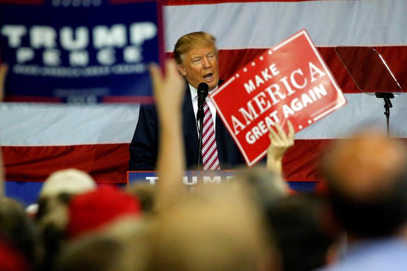 Donald Trump in Ohio (Reuters)