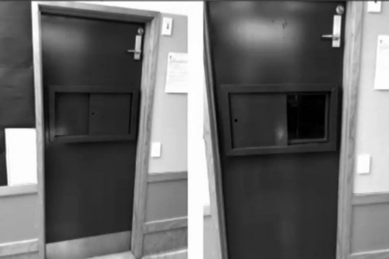 A seclusion room (Newshub.)