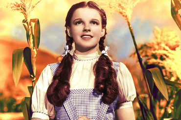 Judy Garland in The Wizard of Oz (Getty)