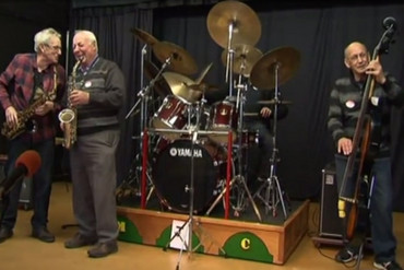 The Manawatu Jazz Club band (Newshub.)
