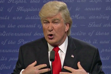 Alec Baldwin as Donald Trump (SNL/YouTube)
