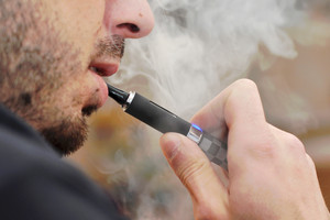 Current knowledge supports the idea that flavoured vaping might help with weight control (file)