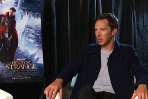 Benedict Cumberbatch as Doctor Strange: The birth of a new action hero?