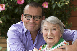 Paul Henry and his mum Olive (NZ Women's Weekly)