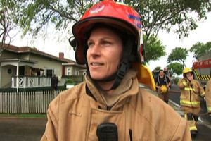 Firefighting with the first female senior station officer in NZ
