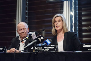 Ardent chairman Neil Balnaves and chief executive Deborah Thomas (Getty)