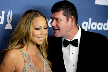 Mariah Carey and James Packer (AAP)